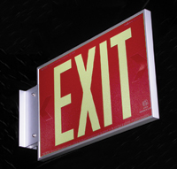 exit-sign-red